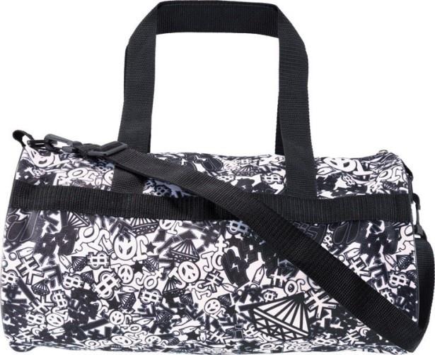 """ラストワン賞の「ドララララララララドラム缶バッグ」はジョジョのモチーフと""""擬音""""を散りばめたデザイン"""