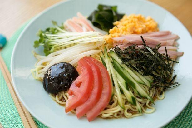 もちろん、冷やし中華も自由に食べてOK!
