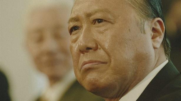 """石橋演じるのは、""""ダミ声""""が特徴の田中角栄元首相"""