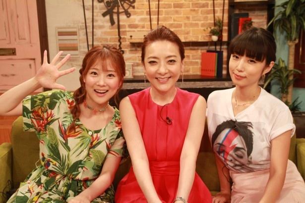 西川史子&MEGUMI&重盛さと美がぶっちゃけまくったdTVオリジナル番組「オンナの噂研究所」が5周年!