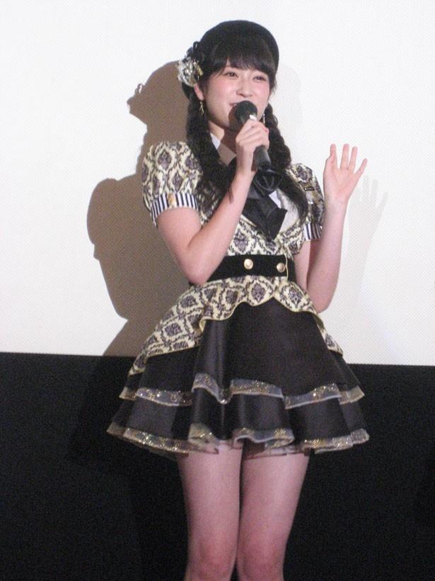 NMB48の吉田朱里(19歳/チームN)
