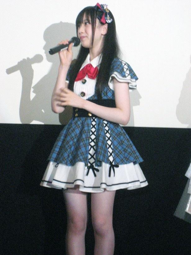 AKB48の永野芹佳(15歳/大阪府代表)