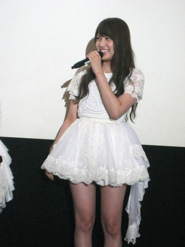 AKB48の入山杏奈(20歳/チームA)