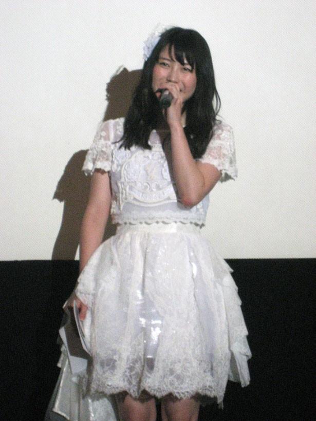 AKB48の横山由依(23歳/チームAキャプテン/総監督)