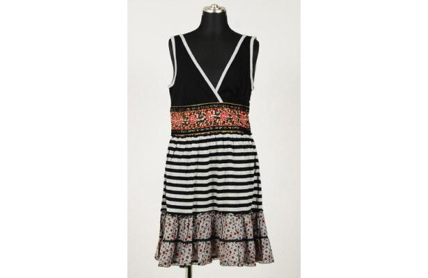 「Foever21」Maxi Strp Flr Dress(¥6195)