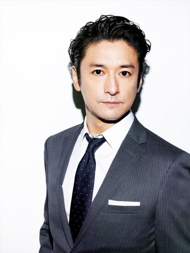 連続テレビ小説初出演の石丸幹二。新聞記者役を演じる
