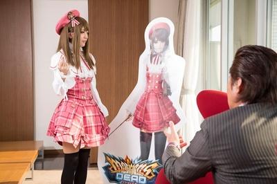 竹内力さんも「ゲームのキャラよりロッシ―の方がかわいいね」と絶賛