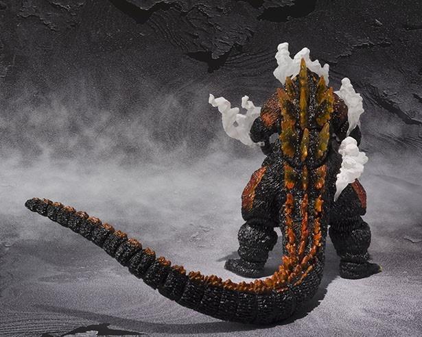 「S.H.MonsterArts ゴジラ(1995) Ultimate Burning Ver.」商品写真