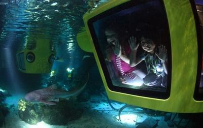 レゴ潜水艦に乗って大冒険に出かけるサブマリン・アドベンチャー