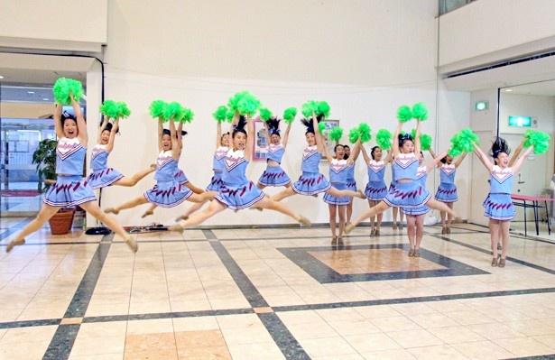 この日の放送では東京学館浦安高校チアダンス部がパフォーマンス
