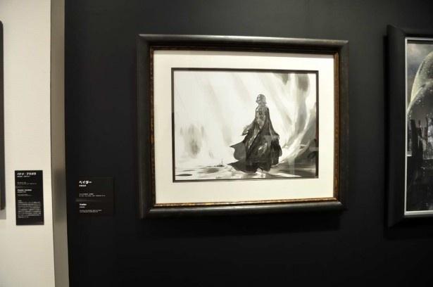 アーティストの天野喜孝氏の作品「ベイダー」。スター・ウォーズはアーティストのイマジネーションを刺激する