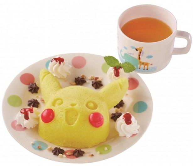 ピカチュウピザ「テリヤキ」 各990円(税抜き)