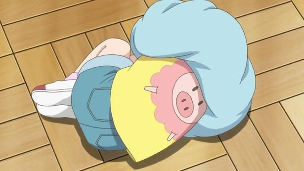「甘々と稲妻」第3話カットが到着。落ち込むつむぎに優しいハンバーグを!