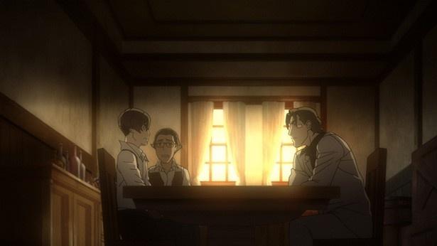 TVアニメ「91Days」第2話の場面カットが到着。結婚式の裏で密かに進む襲撃作戦