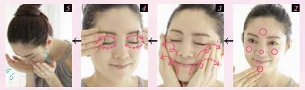 クレンジング剤を顔に乗せて洗い流すまでを「30秒」でできると肌にやさしくて◎!