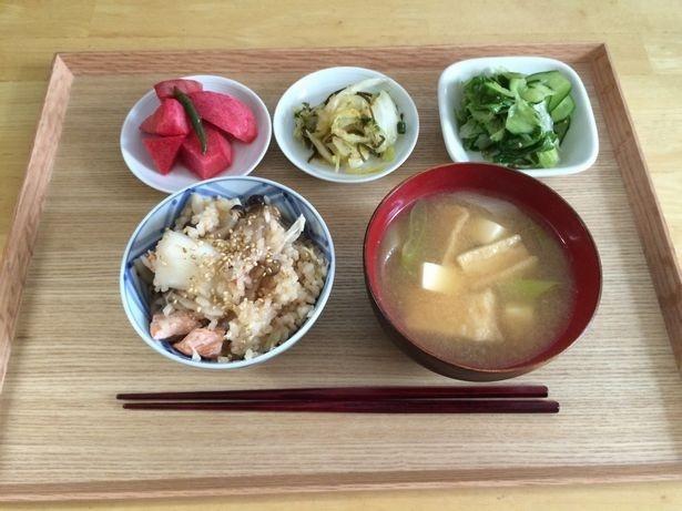 野菜から食べる、おなじみ「ベジファースト」。この読者も自然にご飯量が減り、7日で体重1.5kg減!