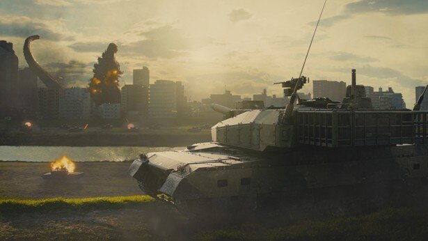 映像的な演出でリアルタイムで進行する災害の切迫感を高めている