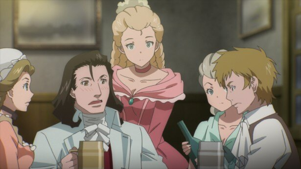 TVアニメ「タイムトラベル少女~マリ・ワカと8人の科学者たち」第3話先行カットが到着。真理が再びタイプスリップ!