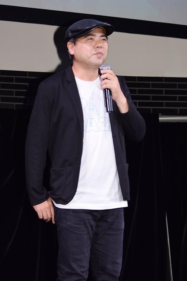 「GRAVITY DAZE2」ディレクターの外山圭一郎さん