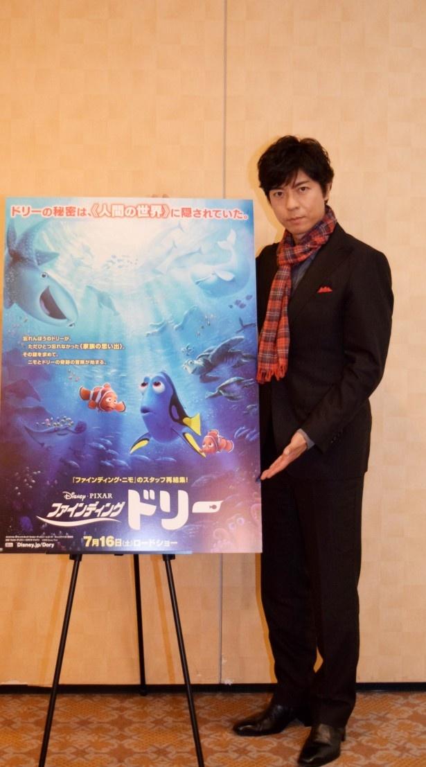 【写真を見る】上川は「本当にきちんと作り込まれた物語だなと思っています」と作品の仕上がりを絶賛!