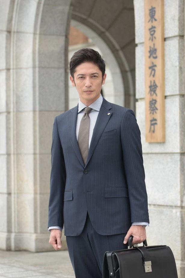 ドラマスペシャル「巨悪は眠らせない 特捜検事の逆襲」でのイケメン検事姿を披露した玉木宏