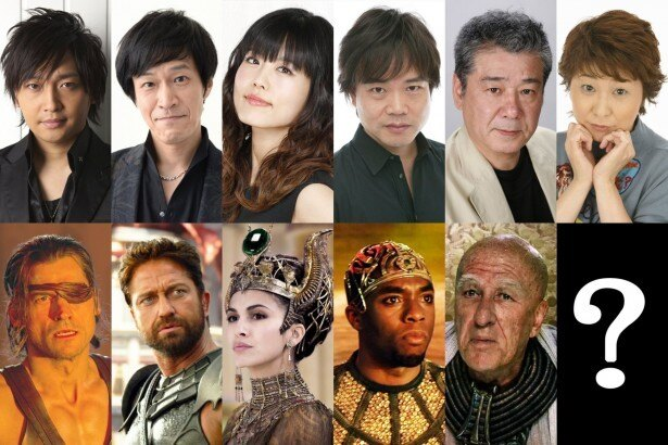 その他、日本を代表する豪華声優陣が集結した