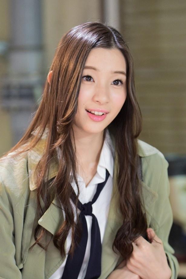 「水族館ガール」で主人公・由香(松岡茉優)の友人・久美子を演じる足立梨花