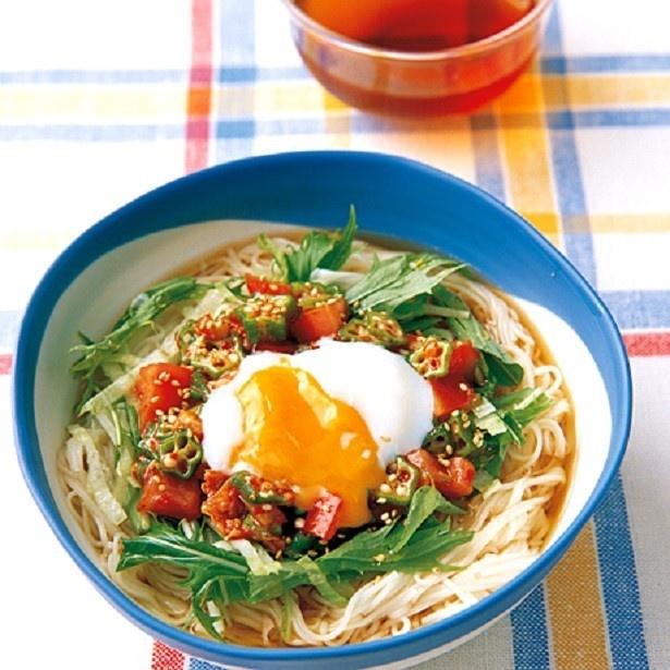 スープとめんは、よく冷やしたほうが美味しく出来上がる