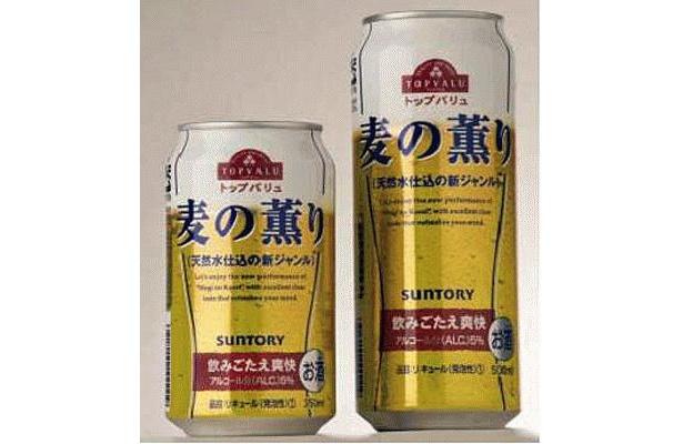 7/24(金)に発売となる、イオントップバリュのPB商品「トップバリュ 麦の薫り」。350ml缶1本100円という格安価格が目玉の、新ジャンルビール