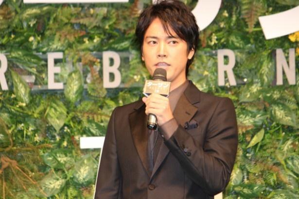 『ターザン:REBORN』で日本語吹替版の声優を務めた桐谷健太