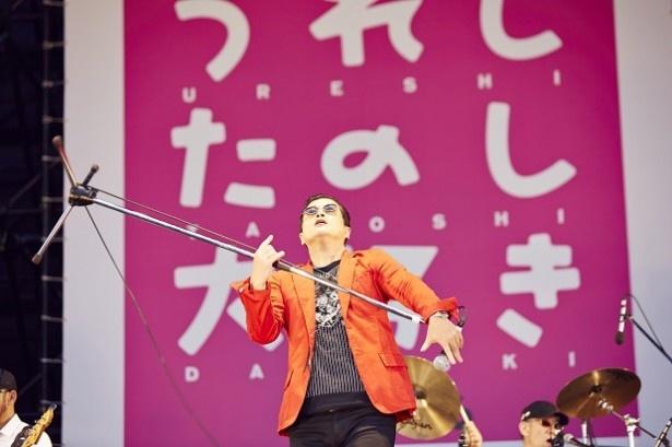 シークレットゲストとして、かつて陣内孝則を中心に博多で結成されたTH eROCKERSが登場