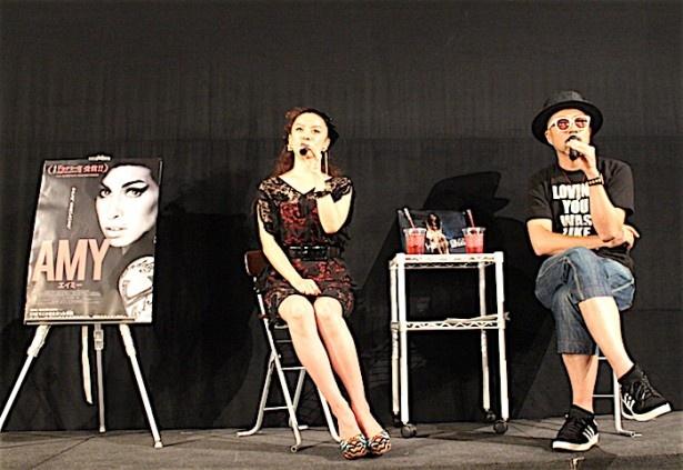 『AMY エイミー』のトークショーが開催された