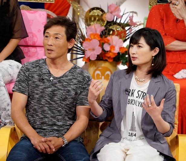 【写真を見る】武田梨奈と父・武さんは「今でも親子でお風呂に入る」という
