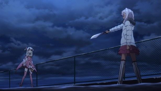 「プリズマ☆イリヤ ドライ!!」第4話先行カットが到着。再会したクロとまさかの対決!?