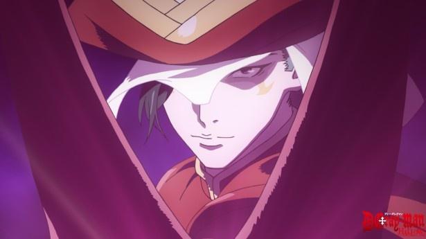 アレンらがAKUMAと戦う孤児院の前にいた緋(ひ)装束の男は、いとも簡単に結界内へ入っていく