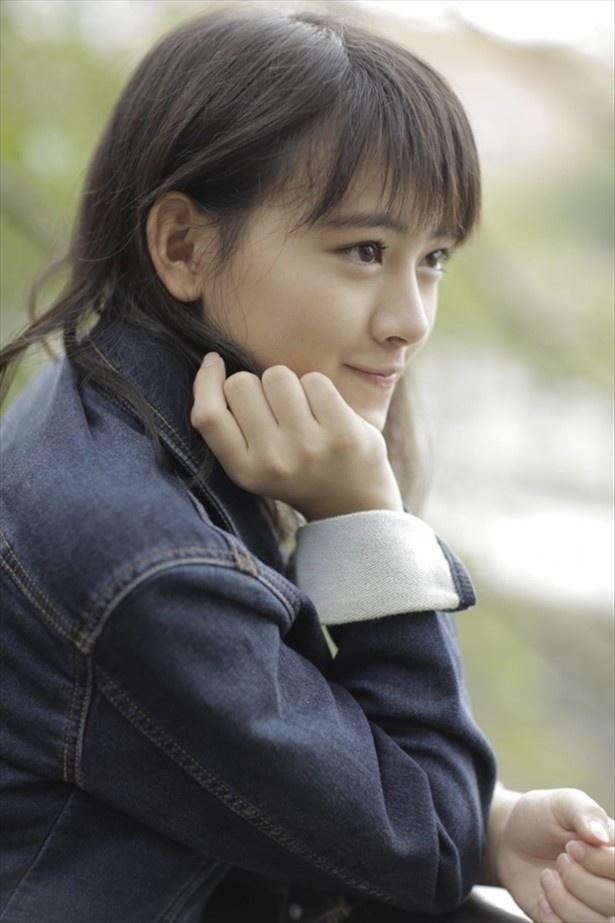 「目標は小松菜奈さん」とキラキラした表情で語る