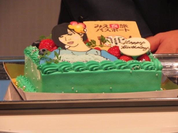 ねむきゅんの7月14日の誕生日を祝ってバースデーケーキが登場