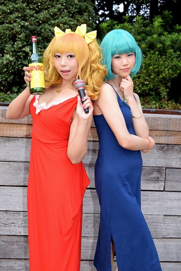 【写真20点】江ノ島循子からセイバーまで!人気ゲームのヒロインたちが真夏の「acosta!」で華麗に共演