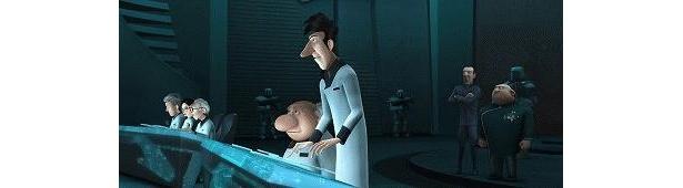 お茶の水博士は、CG版でも鼻がでかい!