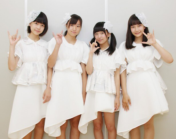 1stアルバムをリリースするsora tob sakanaの神崎風花、山崎愛、寺口夏花、風間玲マライカ(左から)にインタビュー!