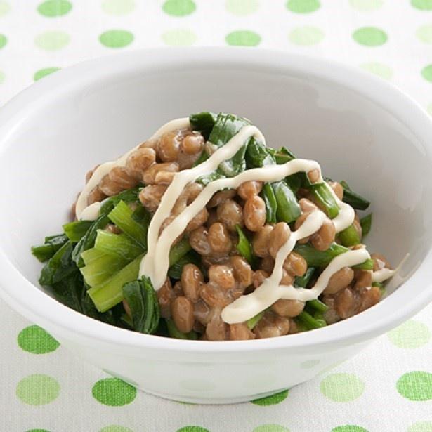 納豆は高タンパクで肝臓を守る働きがあり、お酒のおともに最適