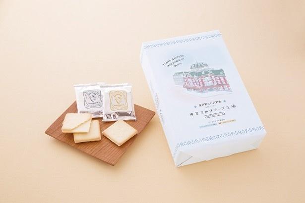 5位の東京ミルクチーズ工場「東京駅丸の内駅舎パッケージクッキー詰合せ20枚入」1857円