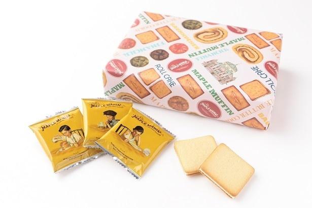 1位のザ・メープルマニア「メープルバタークッキー18枚入 東京駅限定パッケージ」1728円