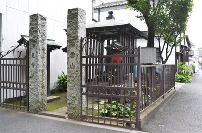「清見寺」のお地蔵様が建てられた年代は定かではないが、古くから青梅街道を往来する人々を見守ってきた