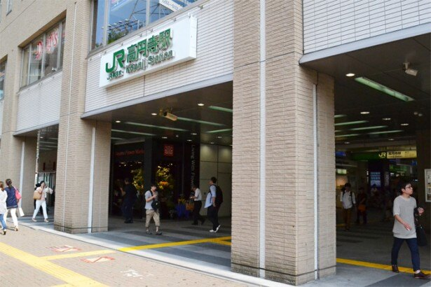 1日約5万人もの人が利用するJR「高円寺駅」