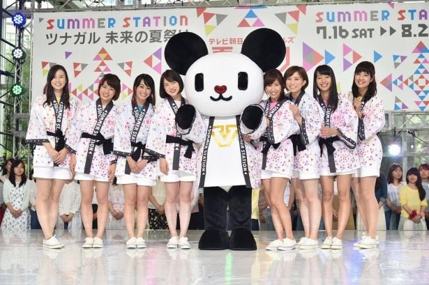テレビ朝日のアナウンサー陣がイベントをアピール!