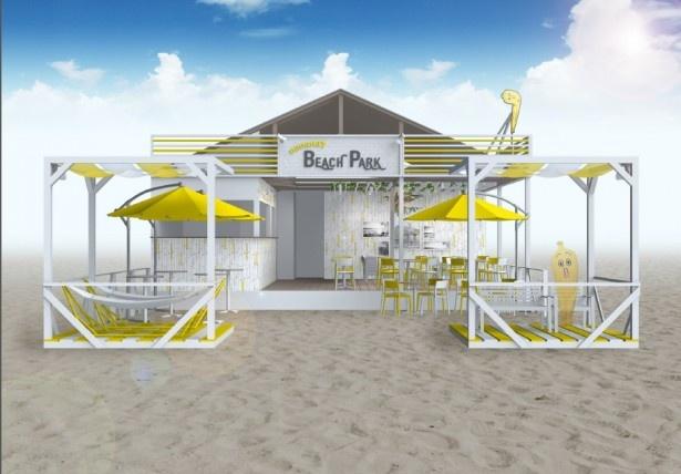 神奈川・由比ガ浜海岸に「nanana BEACH PARK」がオープン