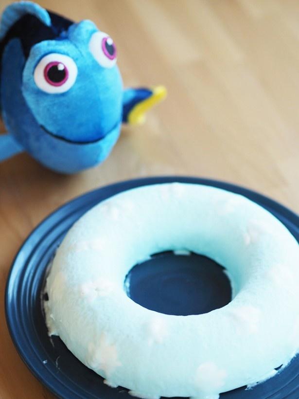 ニモ&ドリーと食べたい!「海の仲間のアイス」を作ってみた!