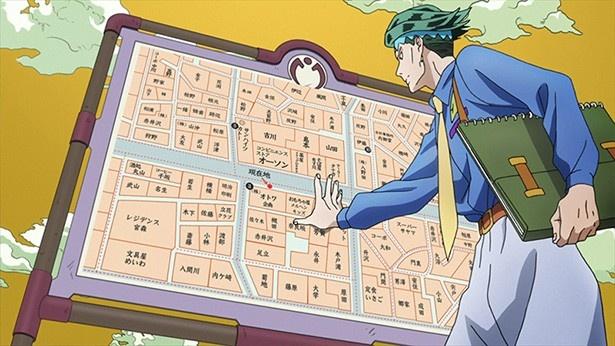 ふたりが地図にはない謎の小道を進んでみると、そこは地図に載っていない曲がり角や道が広がっていた