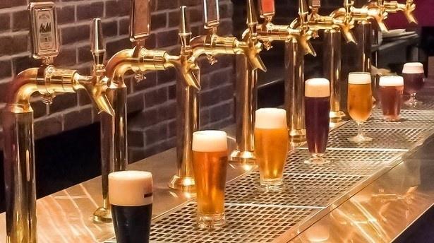 本場のドイツビールをはじめとする最大17種類の生ビールが飲み放題